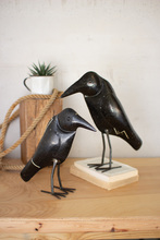 More about the 'Set Of Two Antique Black Iron Crows' product