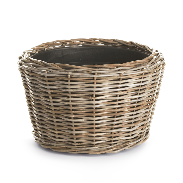 Woven Dry Basket Planter 21.25""