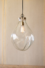 More about the 'Glass Teardrop Pendant Light' product