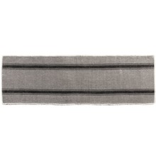 Napa Grey and Black Striped Table Runner