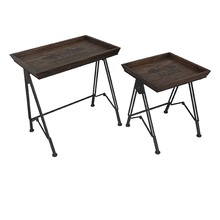 Paris Voyager Nested Accent Tray Tables