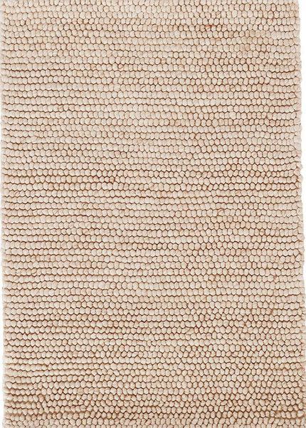 Niels Latte Hand Knotted Wool/Viscose Rug