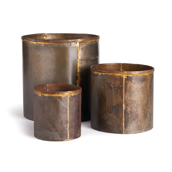 Axel Cachepots, Set Of 3