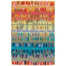 Paint Chip Micro-Hooked Wool Rug