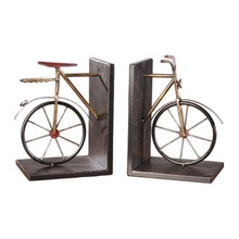 Tandem bicycle bookends