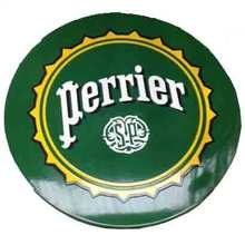 "More about the '24"" French Enamel Top w/3 Prong Base - Perrier' product"