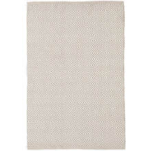 Petit Diamond Platinum/Ivory Indoor/Outdoor Rug