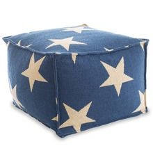 Star Poof - Navy/Ivory