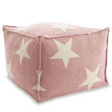 Star Poof - Pink/Ivory
