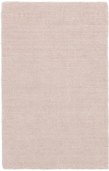 Quartz Pink Woven Viscose/Cotton Rug