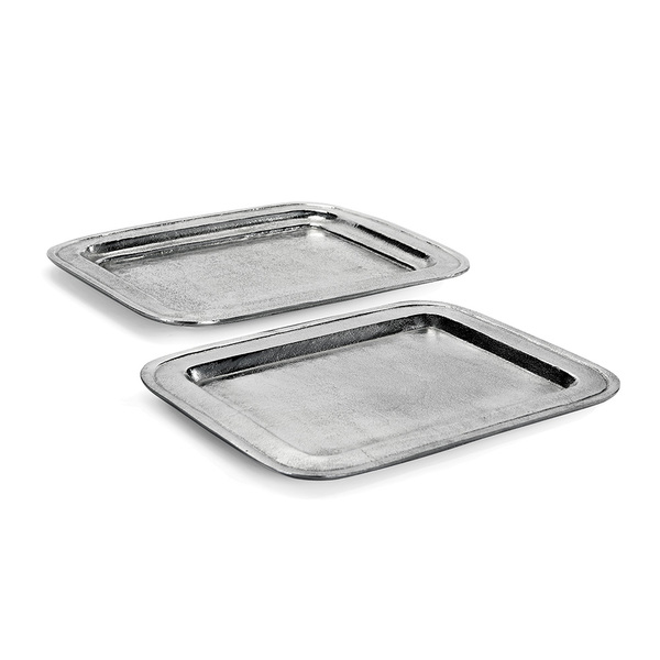 Hamilton Rectangular Trays, Set Of 2