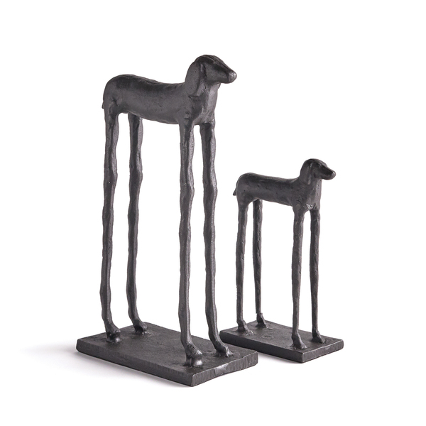Two Hounds, Set Of 2
