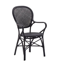 Rossini Arm Chair Black