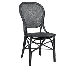 Rossini Side Chair Matte Black