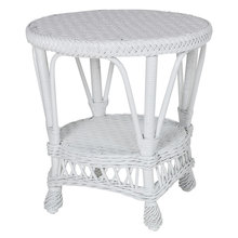 More about the 'Round Wicker End Table' product