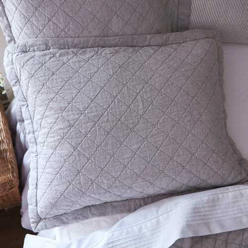Salt River Grey standard sham