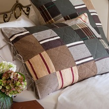 More about the 'Taylor Linens Watson Brown Patchwork Standard Sham' product