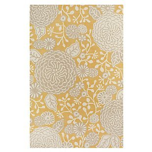 Sachi Gold Wool Rug by Company C