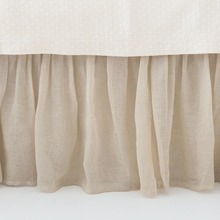 Savannah Tea Stained Bedskirt