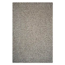 Solid Slate Outdoor Braided Rug
