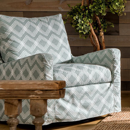Sloane slipcovered chair