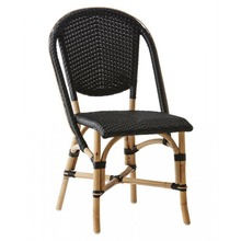 Sofie Side Chair by Sika Black with Black Dots