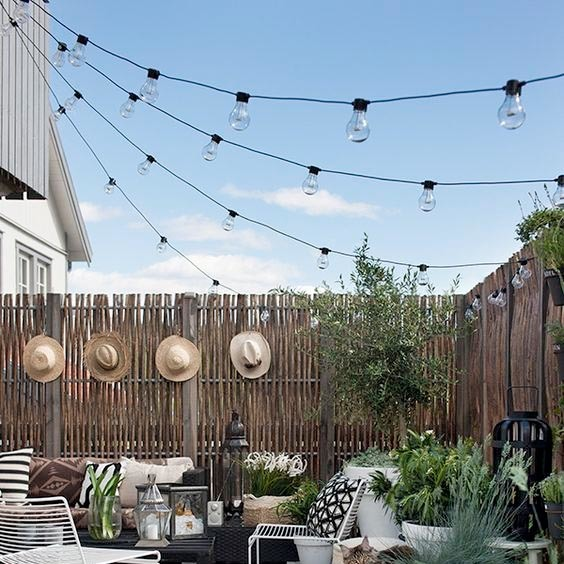 Standard Patio String light set