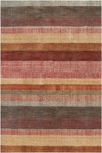 Dash Albert Stonover Stripe Hand Knotted Wool Rug With Free