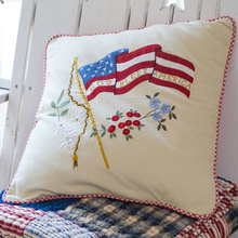 6fb9b11c6de3 God Bless America Pillow by Taylor Linens