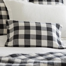 Parker Buffalo Check Boudoir pillow