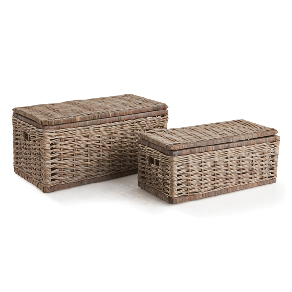 Normandy Storage Trunks, Set Of 2
