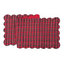 More about the 'Tartan/Red Table Runner' product
