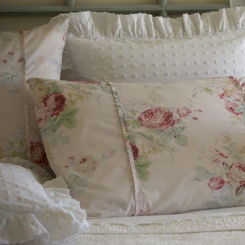 Taylor Linens Shore Rose Petal King Sham