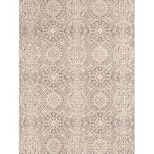 Temple Taupe Hooked Wool Rug by Dash & Albert