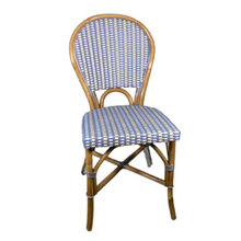 More about the 'Trocadéro Rattan Chair - Ivory/Sky Blue' product