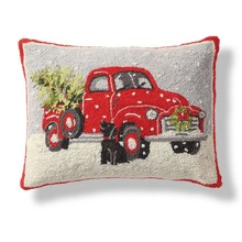 More about the 'Christmas Truck Hooked Pillow by Peking' product