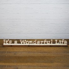 More about the 'It's a Wonderful Life Sign' product