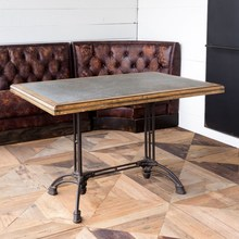 More about the 'Zinc Top Café Table' product
