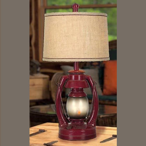 Vintage Lantern Lamp American Country