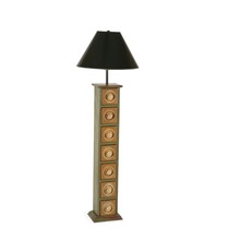 7 Drawer Floor Lamp