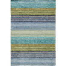 More about the 'Brushstroke Blue Tufted Wool Rug by Company C' product