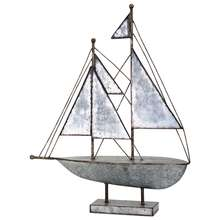 More about the 'Ahoy Galvanized Sailboat' product
