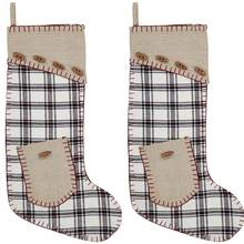 Amory Stockings with Pockets set of two.