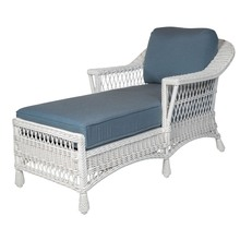 Bar Harbor Chaise White