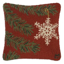 More about the 'Ornament Flake Hooked Pillow by Chandler 4 Corners' product