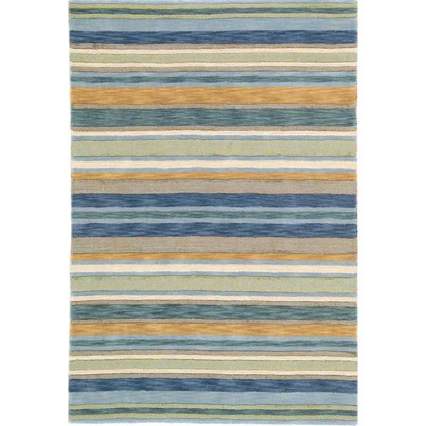 Sheffield Stripe Rug Sea Grass