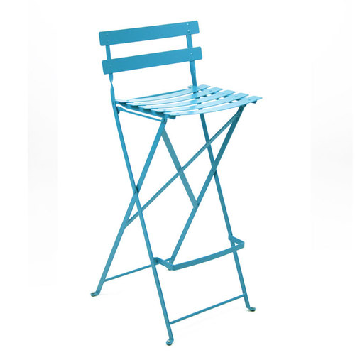 Sensational Fermob Metal Bistro Folding High Stool Each Machost Co Dining Chair Design Ideas Machostcouk