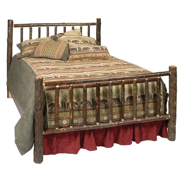 Traditional Hickory Complete Bed