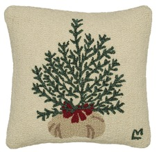 More about the 'Plant A Tree Hooked Pillow by Chandler 4 Corners' product