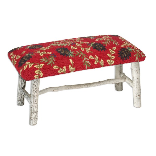 Ruby Cones Hickory Bench